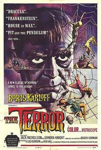The Terror (1963 film) - film poster by Reynold Brown