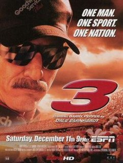 <i>3: The Dale Earnhardt Story</i> 2004 television film directed by Russell Mulcahy