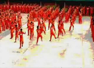 Thriller (viral video) 2007 viral video featuring the CPDRC Dancing Inmates of a high-security penitentiary
