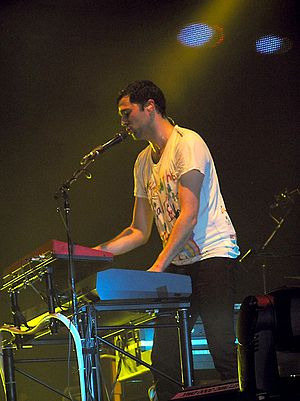 Tim Rice-Oxley - Image: Tim Rice Oxley Keane 2009 01 29 1