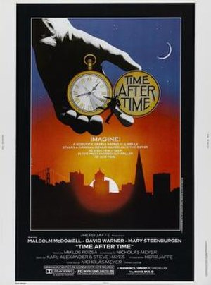 Time After Time (1979 film) - Promotional poster