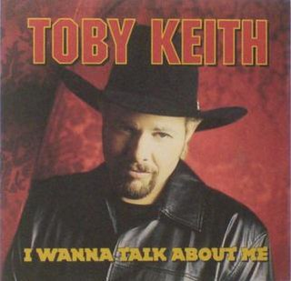 I Wanna Talk About Me 2001 single by Toby Keith