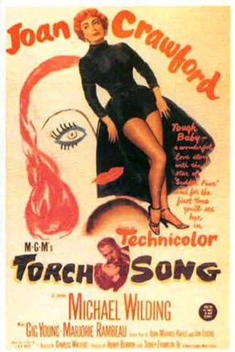 Torch Song (1953 film) - Original theatrical release poster