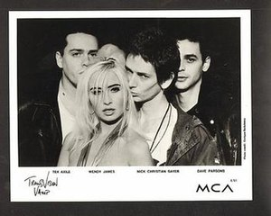 Transvision Vamp - Transvision Vamp promotional photo (1991)