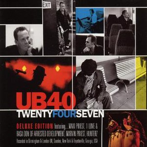 TwentyFourSeven (UB40 album) - Image: Twenty Four Seven (UB40 album)