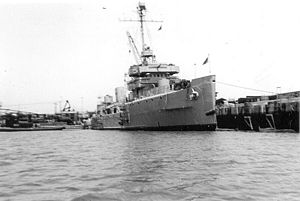 BRP Quezon (PS-70) - as USS Vigilance circa 1946