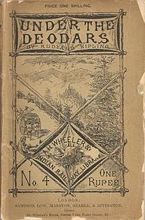 <i>Under the Deodars</i> book by Rudyard Kipling