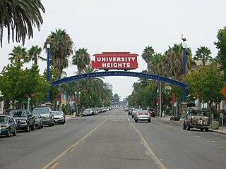 University Heights, San Diego Community of San Diego in California