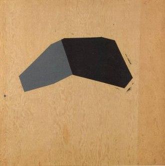Judy Rifka - Untitled by Judy Rifka, 1974, acrylic on plywood, 48 x 48 in., Honolulu Museum of Art