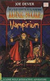 <i>Vampirium</i> book by Joe Dever