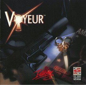 Voyeur (video game) - Image: Voyeur Cover