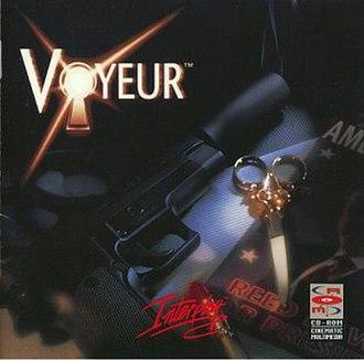 Voyeur (video game) - Cover art