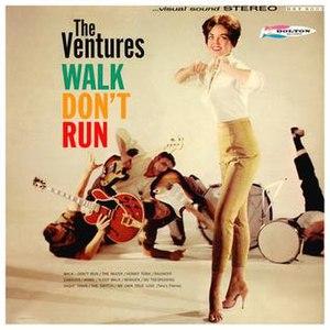 Walk, Don't Run (album) - Image: Walk, Don't Run 1960