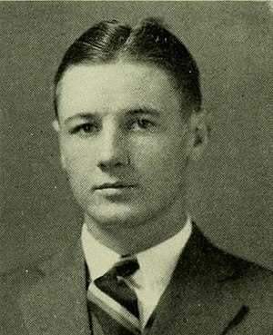 William W. Evans - Evans as a senior at Maryland in 1930