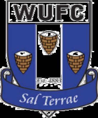 Winsford United F.C. - Winsford United's badge