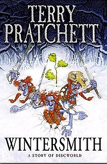 <i>Wintersmith</i> book by Terry Pratchett