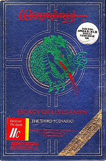 <i>Wizardry III: Legacy of Llylgamyn</i> 1983 video game