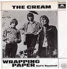 Wrapping Paper Cream 1967 Polydor 45.jpg