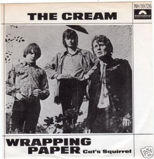 Wrapping Paper 1966 single by Cream