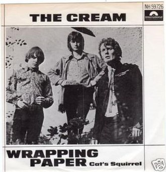 Wrapping Paper - Image: Wrapping Paper Cream 1967 Polydor 45