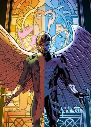Warren Worthington III - Image: X men angel archangel
