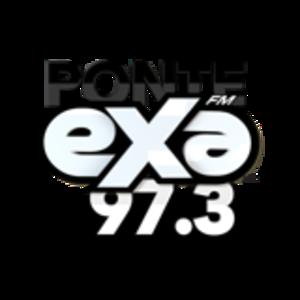 XHSR-FM - Image: XHSR ponteexafm 97.3 logo