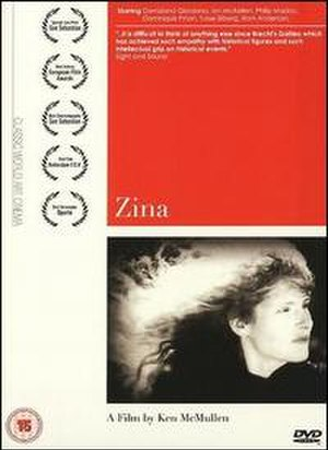 Zina (film) - Zina DVD Cover
