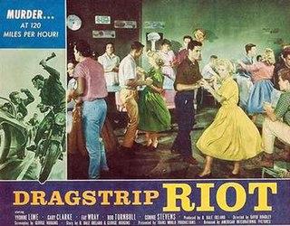 <i>Dragstrip Riot</i> 1958 film by David Bradley