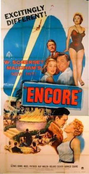 Encore (1951 film) - U.S. poster
