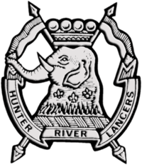 12th 16th Hunter River Lancers cap badge.png