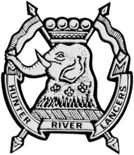 Australian Army Reserve light armoured regiment