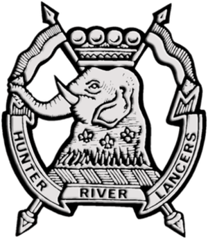 12th/16th Hunter River Lancers - Cap Badge of the 12th/16th Hunter River Lancers