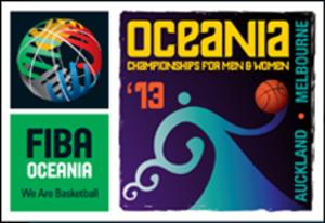 2013 FIBA Oceania Championship - Image: 2013 FIBA Oceania Championship logo