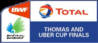2016 Thomas & Uber Cup badminton championships