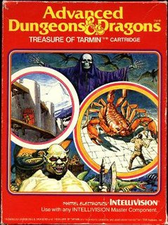 <i>Advanced Dungeons & Dragons: Treasure of Tarmin</i> 1983 video game
