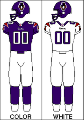 New Orleans VooDoo - Image: AFL Uniform Current NOR