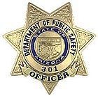 Badge of an Arizona Department of Public Safety Trooper
