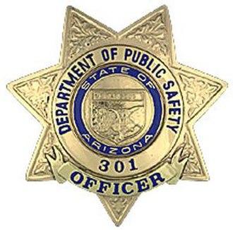 Arizona Department of Public Safety - Image: AZ DPS Badge