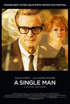 A Single Man - Theatrical release poster