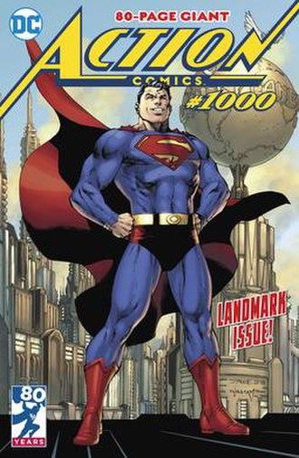 Action Comics 1000 - Image: Action Comics 1000