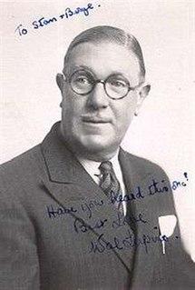 Wallace Lupino British actor