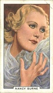Nancy Burne British actress