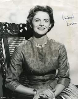 Isabel Dean English film and television actress
