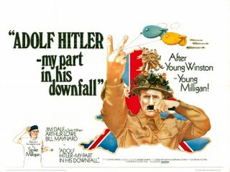 Adolf Hitler: My Part in His Downfall (film) - Theatrical release poster.