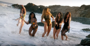 All in My Head (Flex) - The video, filmed in Malibu, California, drew commentary from critics for its summer visuals and song's matching lyrical content.