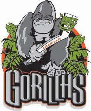 Amarillo Gorillas - Image: Amarillo Gorillas