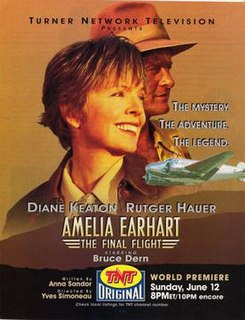 <i>Amelia Earhart: The Final Flight</i> 1994 television film directed by Yves Simoneau