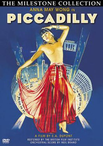 Piccadilly (film) - Image: Anna May Wong Piccadilly Cover