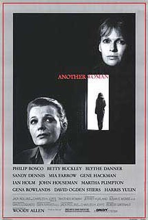 Another Woman - Theatrical release poster