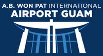 Antonio B. Won Pat International Airport - Image: Antonio B. Won Pat International Airport Logo